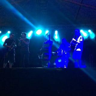 Sound check#WoodfordFF #woodfordfolkfestival